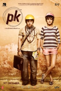 PK India Movie With Actor Aamir Kahn And Anushka Sharma